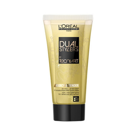 Gel crème Bouncy & Tender Dual Stylers Tecni Art 150 ml