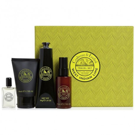 Coffret voyage West Indian Lime