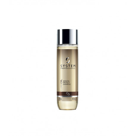 L1 Luxe Oil Keratin Protect Shampoo System Professional 250 ml