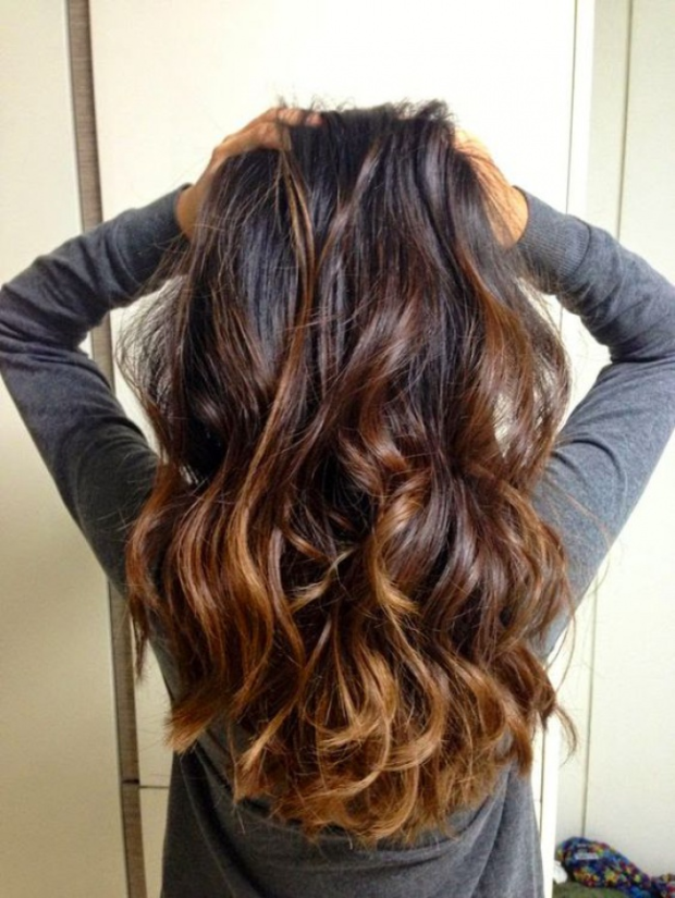 ombre hair degarde de couleur