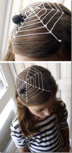 coiffure-fille-araignee-toile-idees-costumes-halloween-magnifiques