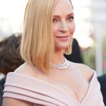 carre asymetrique uma thurman festival de cannes