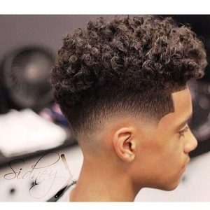 Coupe cheveux homme degrade a blanc
