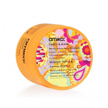 masque regenerant cheveux colores amika triple rx