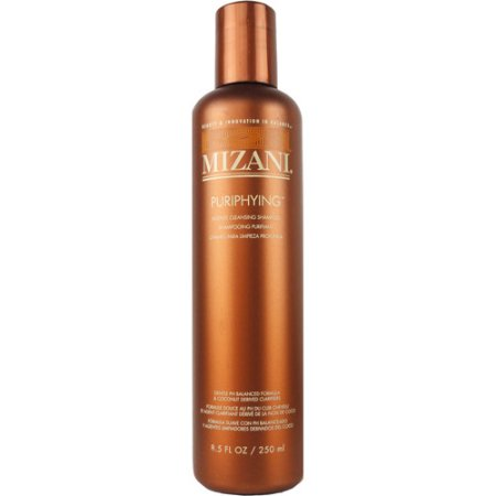 shampooing ph neutre cheveux boucles mizani puriphying shampoo
