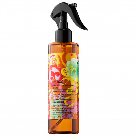 brume pour cheveux fins amika bombshell blowout spray