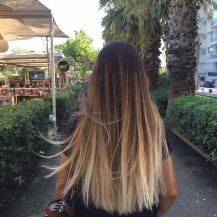 ombre hair cheveux lisses mahasoa