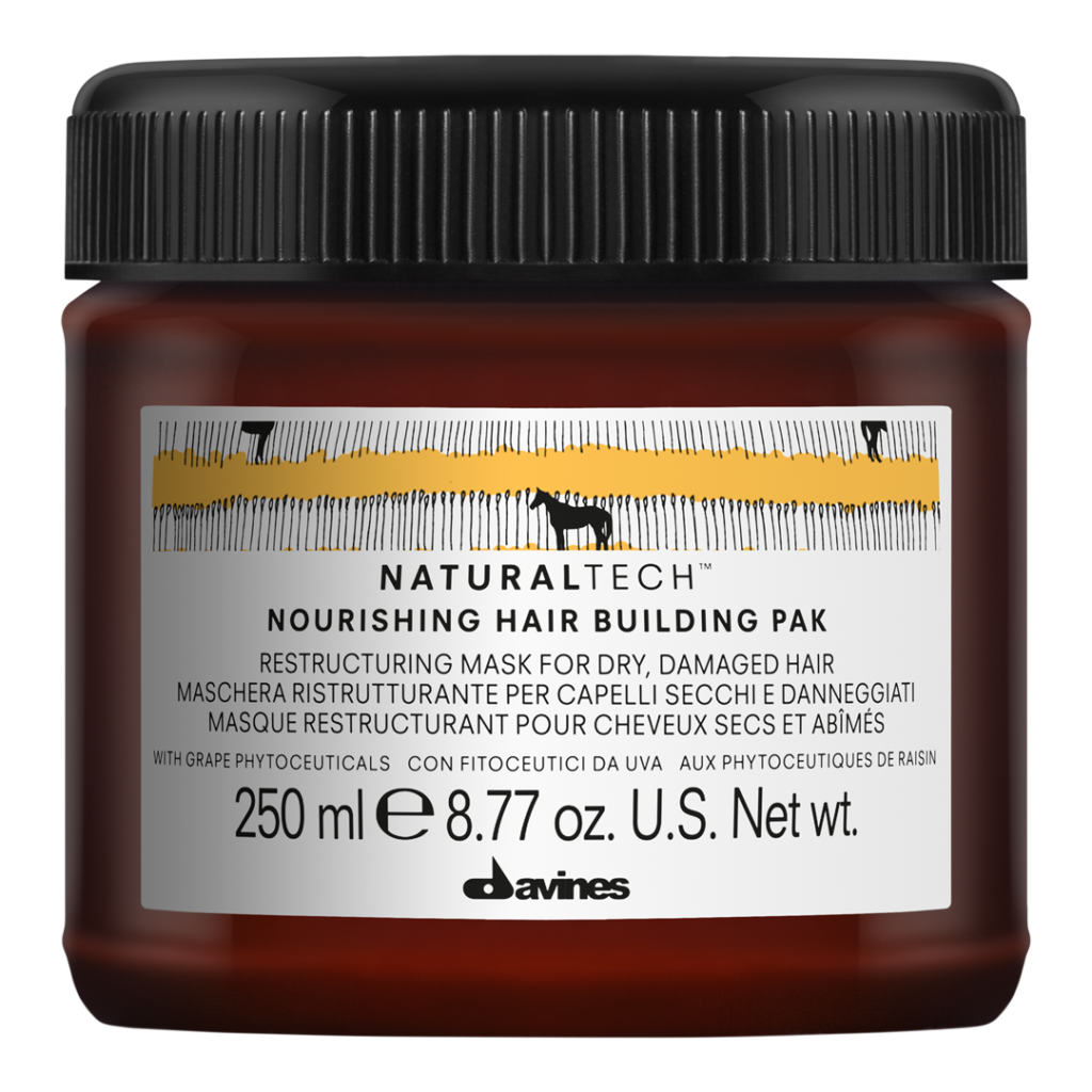masque nourishing hair building davines natural tech