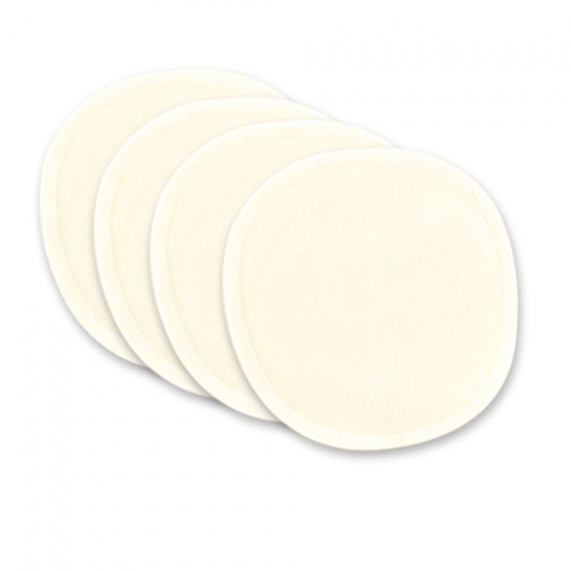 Lot de 4 eco-lingettes démaquillantes Miss W