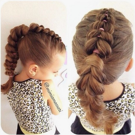coiffure enfant fete coiffure noel fille Meilleur de 14 Amazing Pull Through Braid Hairstyles for 2014 Pretty